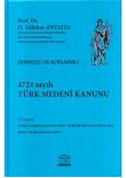 4721 Sayılı Türk Medeni Kanunu