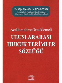 Uluslararası Hukuk Terimler Sözlüğü