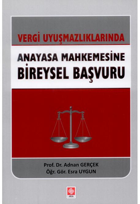 Anayasa Mahkemesine Bireysel Başvuru