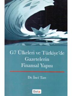 G7 Ülkeleri Ve Türkiyede Gazetelerin Finansal Yapısı