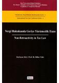 Vergi Hukukunda Geriye Yürümezlik Esası