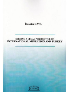 International Migration and Turkey Seeking a Legal Perspective On