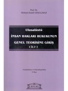 Ulusalüstü İnsan Hakları Hukukunun Genel Teorisine Giriş Cilt II