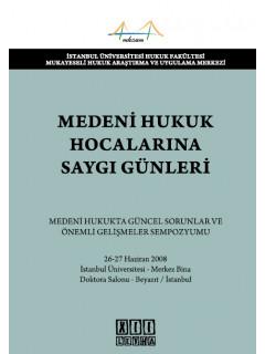 Medeni Hukuk Hocalarına Saygı Günleri