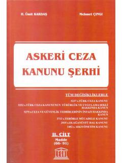 Askeri Ceza Kanunu Şerhi II. Cilt