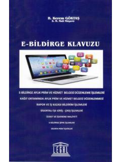 E-Bildirge Klavuzu