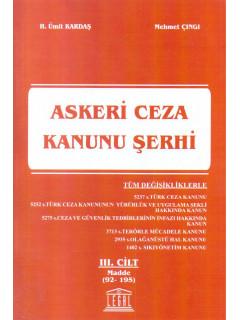 Askeri Ceza Kanunu Şerhi III. Cilt