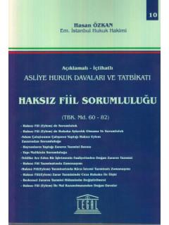 Haksız Fiil Sorumluluğu TBK Md. 60-82