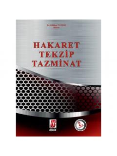 Hakaret Tekzip Tazminat