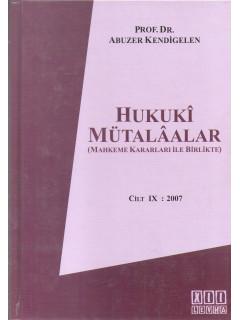 Hukuki Mütalaalar