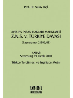 Z. N. S. V. Türkiye Davası Başvuru No. 21896-08