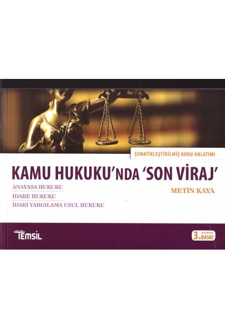 Kamu Hukuku'nda 'Son Viraj'