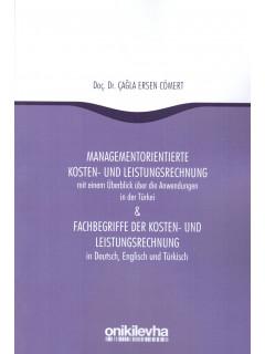 Managementorientierte Kosten- Und Leistungsrechnung & Fachbegriffe Der Kosten- Und Leistungsrechnung