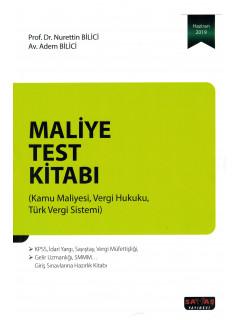Maliye Test Kitabı