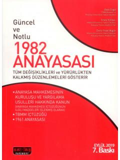 Güncel ve Notlu 1982 Anayasası