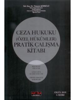 Ceza Hukuku (Özel Hükümler) Pratik Çalışma Kitabı