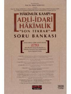 """Adli-İdari Hakimlik """"Son Tekrar"""" Soru Bankası"""