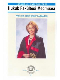 Prof. Dr. Berin Ergin'e Armağan