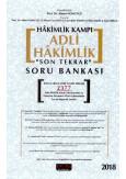"""Adli Hakimlik """"Son Tekrar"""" Soru Bankası"""
