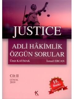 Adli Hakimlik Özgün Sorular