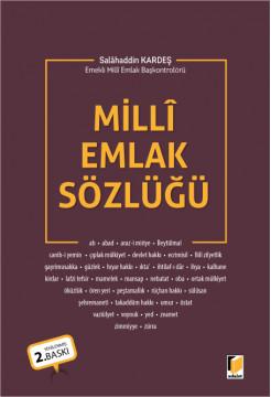 Milli Emlak Sözlüğü
