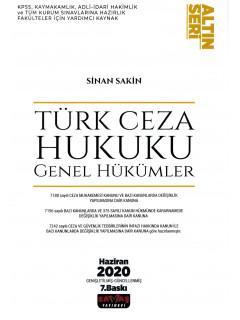 Türk Ceza Hukuku Genel Hükümler (Altın Seri)