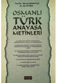 Osmanlı Türk Anayasa Metinleri