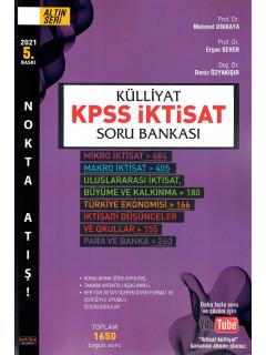 Külliyat Kpss İktisat Soru Bankası