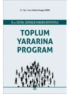 Toplum Yararına Program