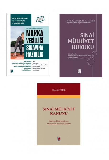Marka Vekilliği Sınavına Hazırlık + Sınai Mülkiyet Hukuku + Sınai Mülkiyet Kanunu (3 Kitap Kampanya)