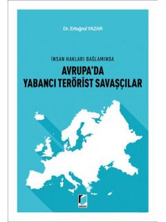 Avrupa'da Yabancı Terörist Savaşçılar