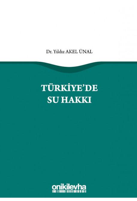 Türkiye'de Su Hakkı