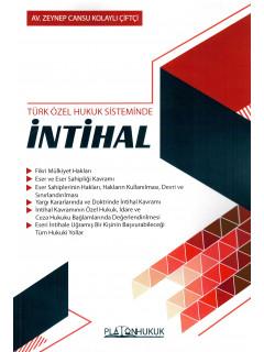Türk Özel Hukuk Sisteminde İntihal