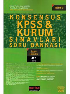Konsensus KPSS & Kurum Sınavları Soru Bankası (Modül:2) - İdare Hukuku