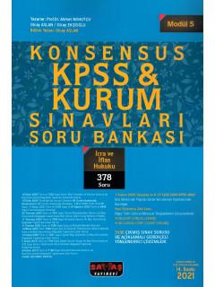 Konsensus KPSS & Kurum Sınavları Soru Bankası (Modül:5) - İcra ve İflas Hukuku