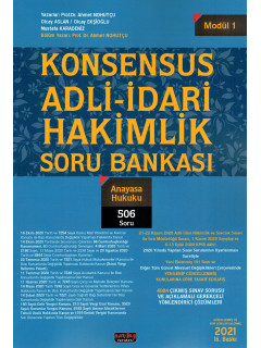 Konsensus Adli-İdari Hakimlik Soru Bankası (Modül 1) - Anayasa Hukuku