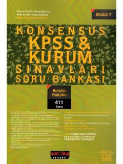 Konsensus KPSS & Kurum Sınavları Soru Bankası (Modül:7) - Borçlar Hukuku