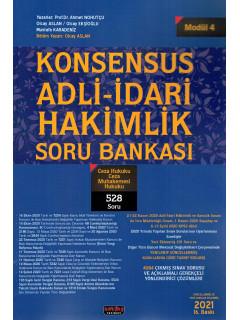 Konsensus Adli-İdari Hakimlik Soru Bankası (Modül 4) - Ceza Hukuku Ceza Muhakemesi Hukuku