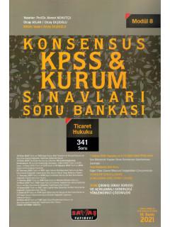 Konsensus KPSS & Kurum Sınavları Soru Bankası (Modül:8) - Ticaret Hukuku