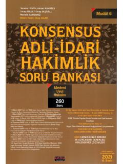 Konsensus Adli-İdari Hakimlik Soru Bankası (Modül 6) - Medeni Usul Hukuku
