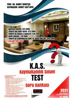 K.A.S. Kaymakamlık Sınavı TEST Soru Bankası