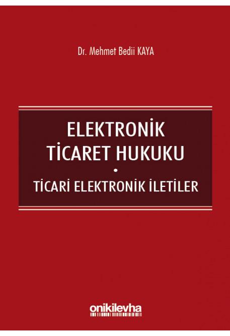 Elektronik Ticaret Hukuku