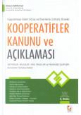 Kooperatifler Kanunu ve Açıklaması