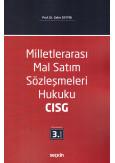 Milletlerarası Mal Satım Sözleşmeleri Hukuku CISG