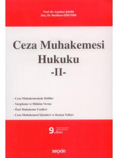 Ceza Muhakemesi Hukuku -II-