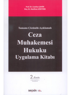 Ceza Muhakemesi Hukuku Uygulama Kitabı