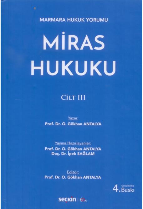 Miras Hukuku Cilt III