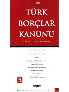 Türk Borçlar Kanunu (Gerekçeli, Karşılaştırmalı) Libra Mevzuat Dizisi 2020