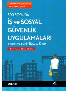 500 Soruda İş ve Sosyal Güvenlik Uygulamaları