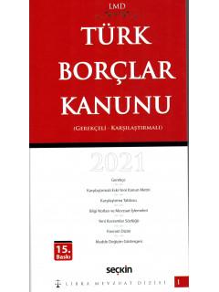 Türk Borçlar Kanunu 2021
